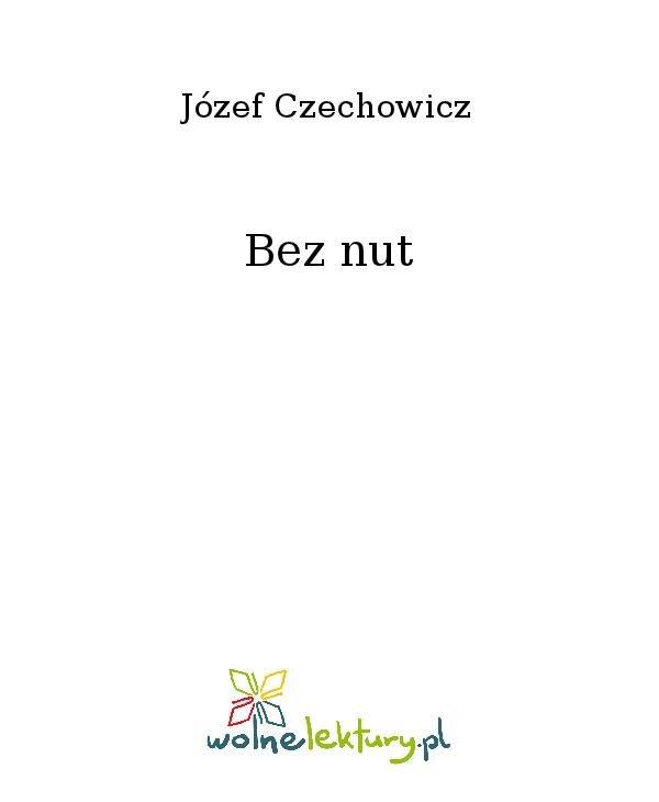 Bez nut - Ebook (Książka na Kindle) do pobrania w formacie MOBI