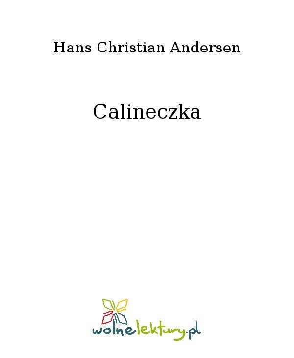 Calineczka - Ebook (Książka na Kindle) do pobrania w formacie MOBI