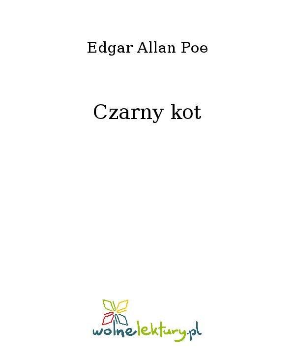 Czarny kot - Ebook (Książka na Kindle) do pobrania w formacie MOBI