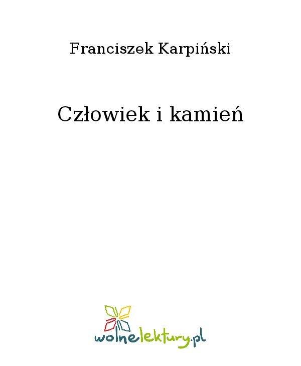 Człowiek i kamień - Ebook (Książka na Kindle) do pobrania w formacie MOBI