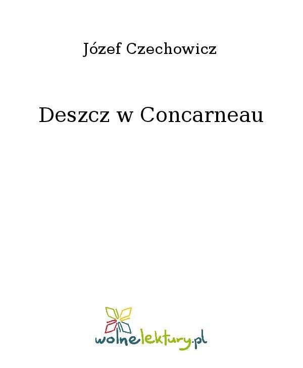 Deszcz w Concarneau - Ebook (Książka na Kindle) do pobrania w formacie MOBI