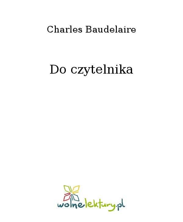Do czytelnika - Ebook (Książka na Kindle) do pobrania w formacie MOBI