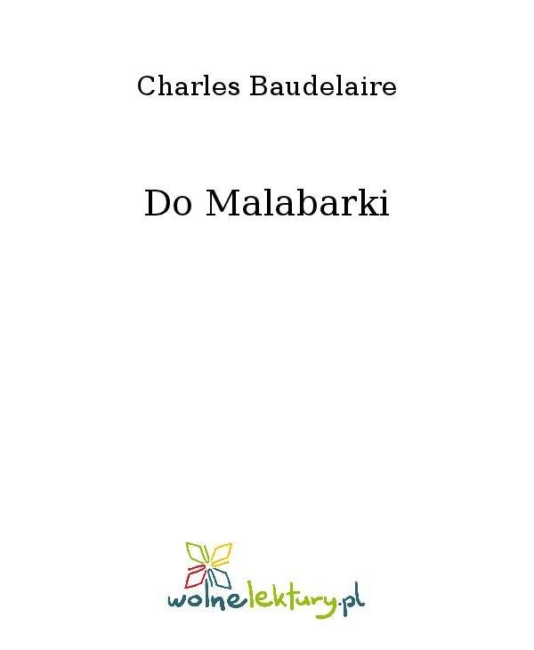 Do Malabarki - Ebook (Książka na Kindle) do pobrania w formacie MOBI