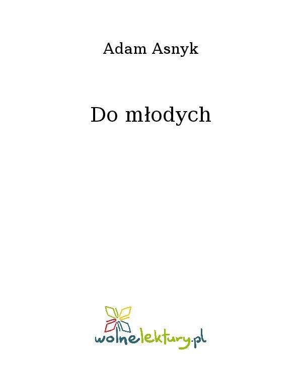 Do młodych - Ebook (Książka na Kindle) do pobrania w formacie MOBI