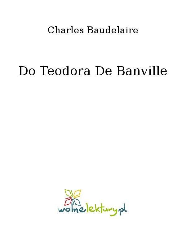 Do Teodora De Banville - Ebook (Książka na Kindle) do pobrania w formacie MOBI