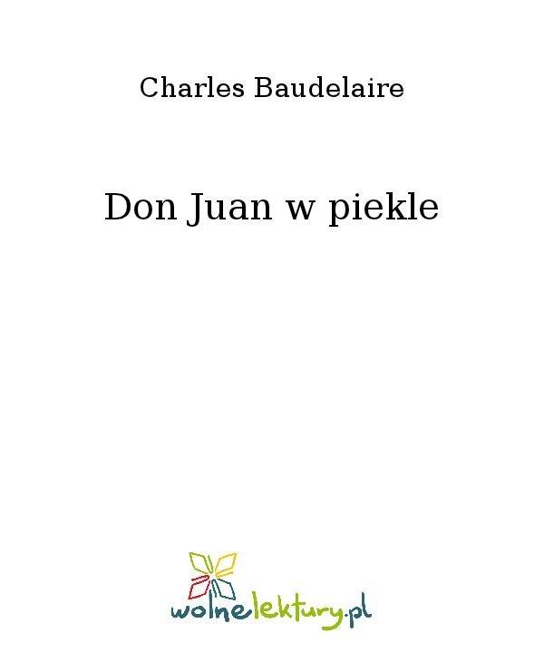 Don Juan w piekle - Ebook (Książka na Kindle) do pobrania w formacie MOBI