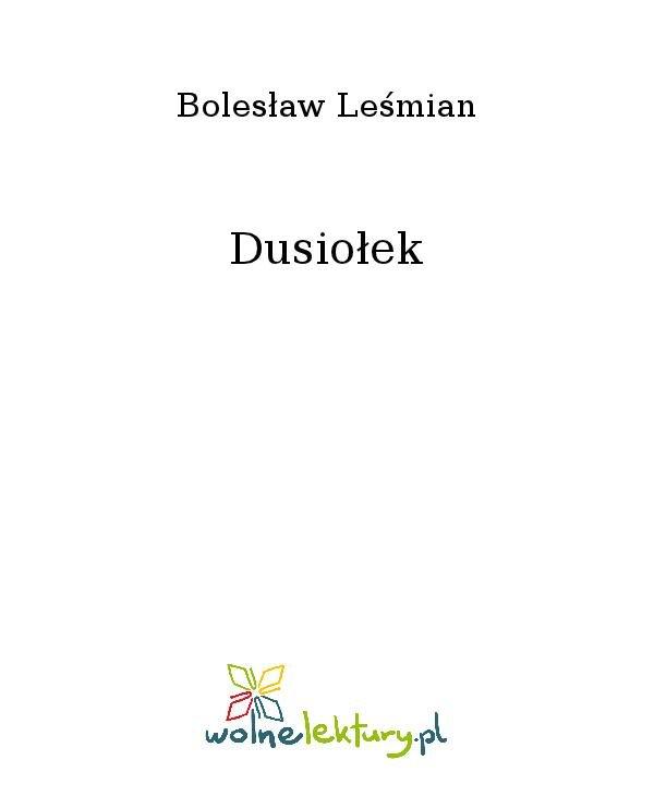 Dusiołek - Ebook (Książka na Kindle) do pobrania w formacie MOBI