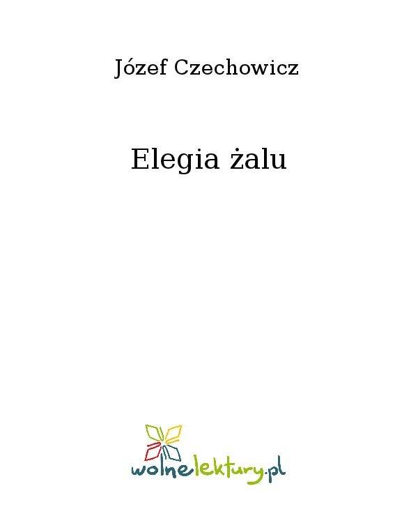 Elegia żalu - Ebook (Książka na Kindle) do pobrania w formacie MOBI