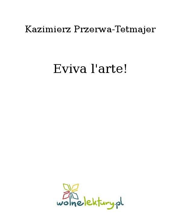 Eviva l'arte! - Ebook (Książka na Kindle) do pobrania w formacie MOBI