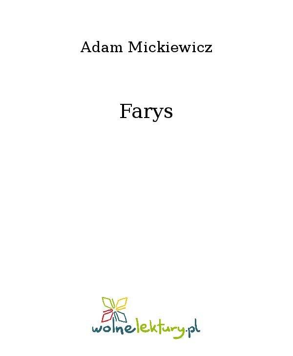 Farys - Ebook (Książka na Kindle) do pobrania w formacie MOBI