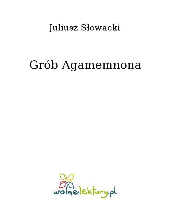 Grób Agamemnona - Ebook (Książka na Kindle) do pobrania w formacie MOBI