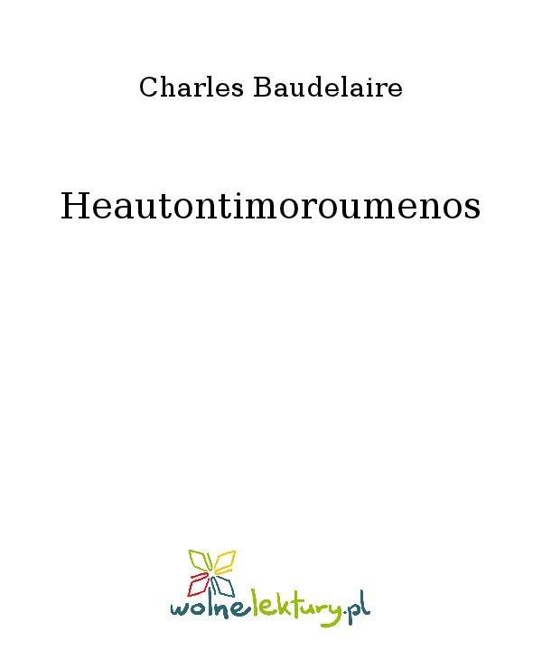 Heautontimoroumenos - Ebook (Książka na Kindle) do pobrania w formacie MOBI
