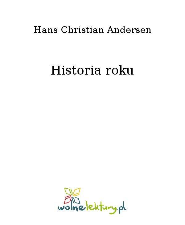 Historia roku - Ebook (Książka na Kindle) do pobrania w formacie MOBI