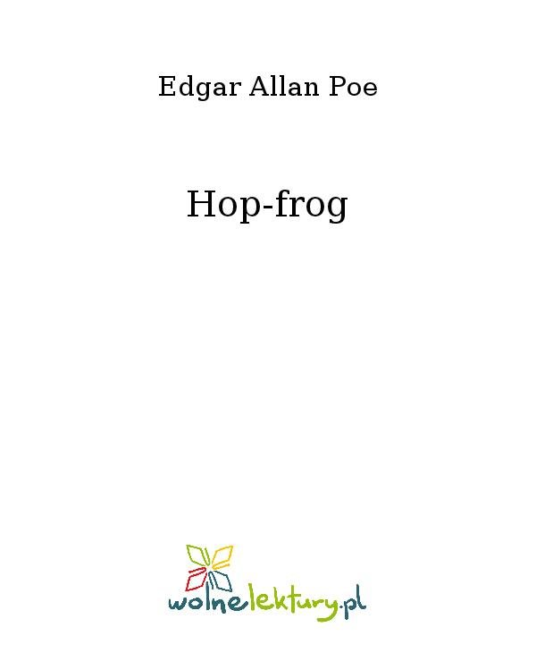 Hop-frog - Ebook (Książka na Kindle) do pobrania w formacie MOBI