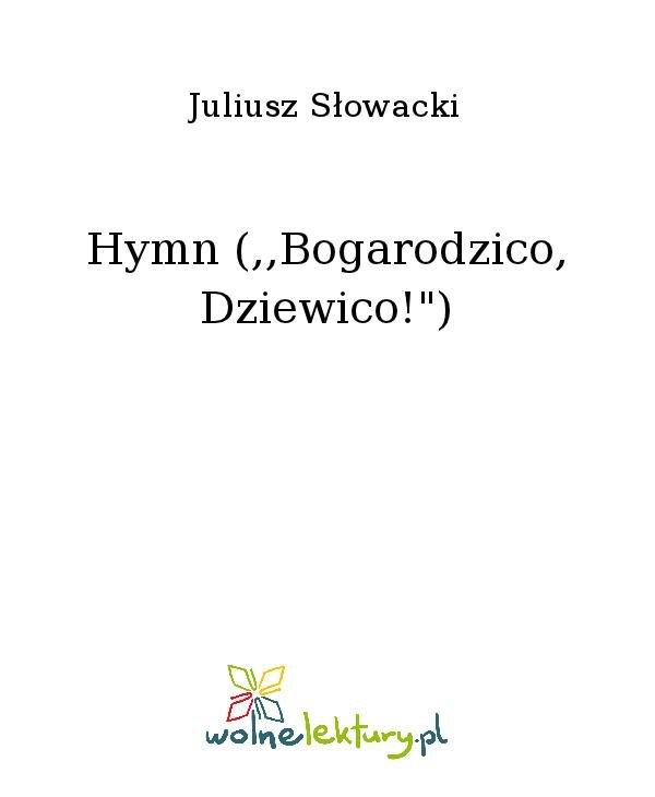 """Hymn (,,Bogarodzico, Dziewico!"""") - Ebook (Książka na Kindle) do pobrania w formacie MOBI"""