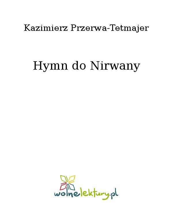 Hymn do Nirwany - Ebook (Książka na Kindle) do pobrania w formacie MOBI