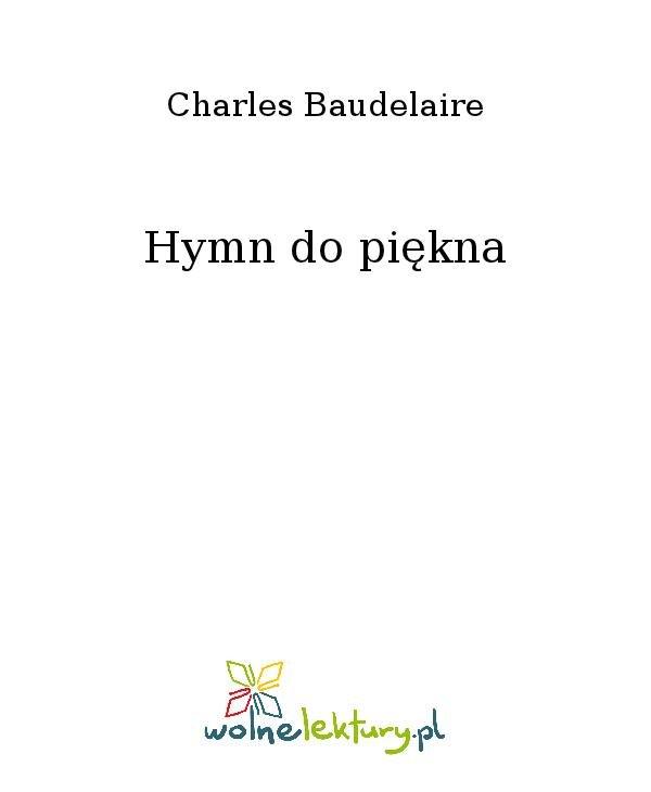 Hymn do piękna - Ebook (Książka na Kindle) do pobrania w formacie MOBI