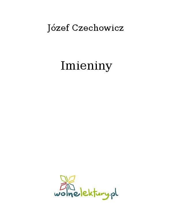 Imieniny - Ebook (Książka na Kindle) do pobrania w formacie MOBI