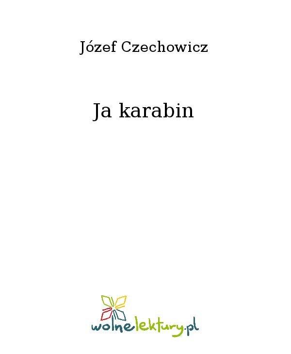 Ja karabin - Ebook (Książka na Kindle) do pobrania w formacie MOBI