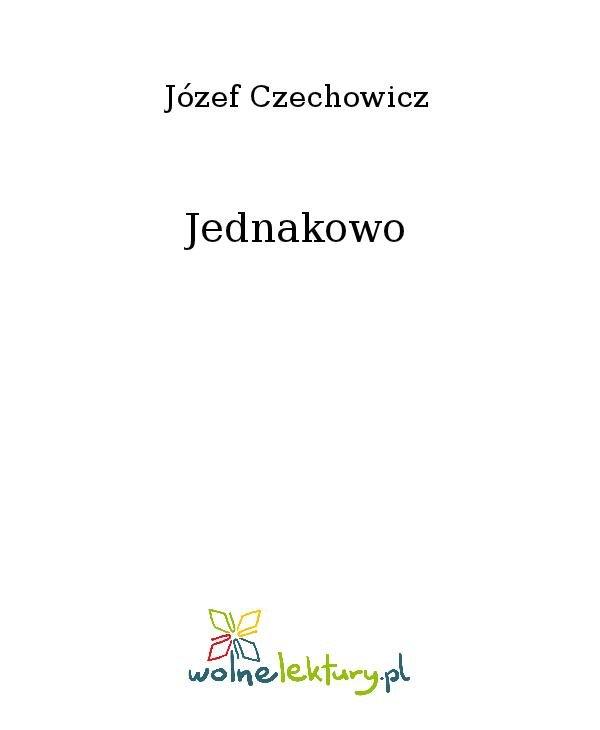 Jednakowo - Ebook (Książka na Kindle) do pobrania w formacie MOBI