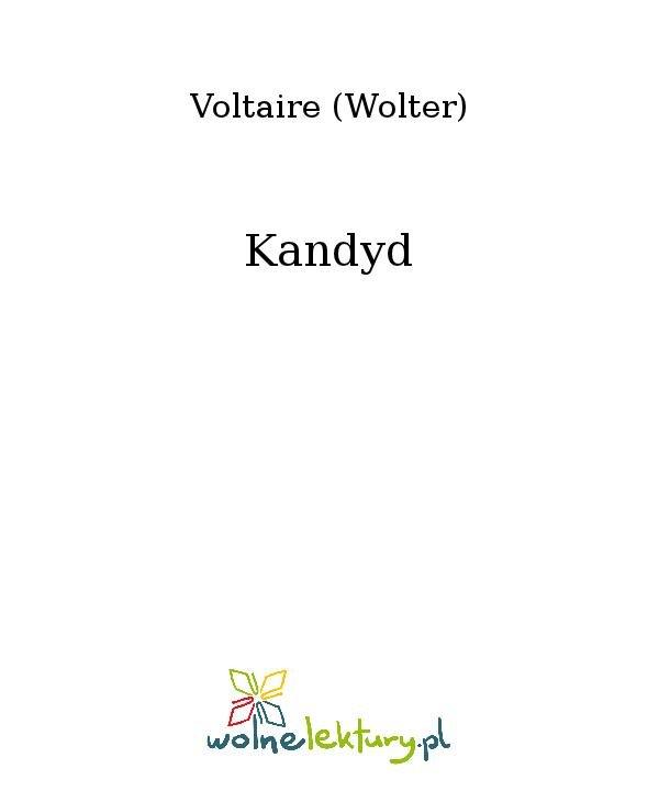 Kandyd - Ebook (Książka na Kindle) do pobrania w formacie MOBI