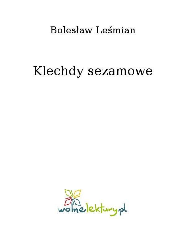Klechdy sezamowe - Ebook (Książka na Kindle) do pobrania w formacie MOBI
