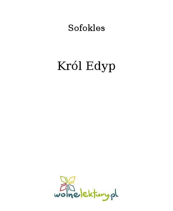 Król Edyp - Ebook (Książka na Kindle) do pobrania w formacie MOBI