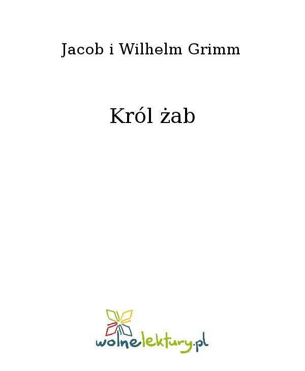 Król żab - Ebook (Książka na Kindle) do pobrania w formacie MOBI