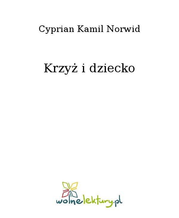 Krzyż i dziecko - Ebook (Książka na Kindle) do pobrania w formacie MOBI