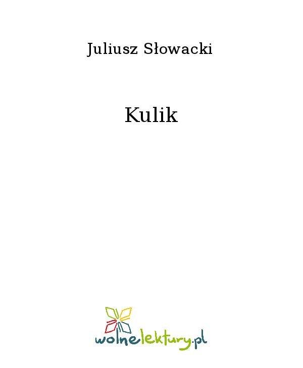 Kulik - Ebook (Książka na Kindle) do pobrania w formacie MOBI