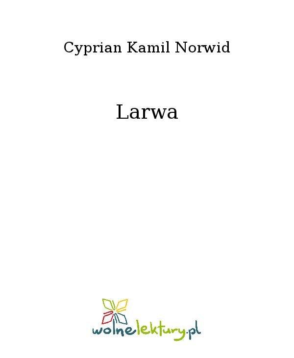 Larwa - Ebook (Książka na Kindle) do pobrania w formacie MOBI