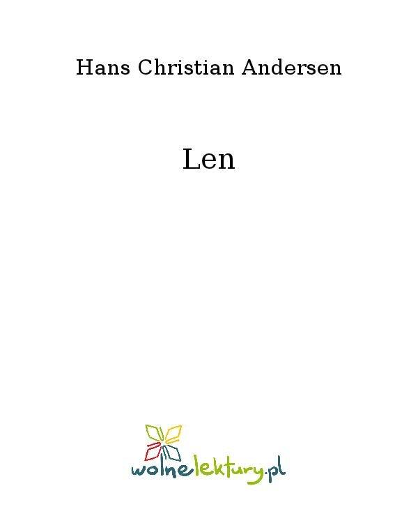 Len - Ebook (Książka na Kindle) do pobrania w formacie MOBI