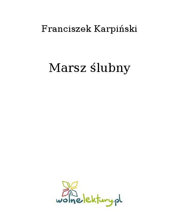 Marsz ślubny - Ebook (Książka na Kindle) do pobrania w formacie MOBI