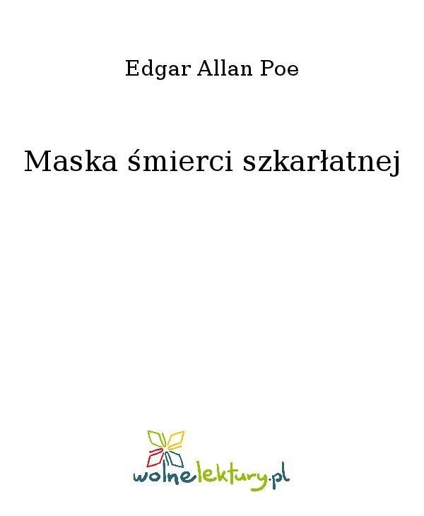 Maska śmierci szkarłatnej - Ebook (Książka na Kindle) do pobrania w formacie MOBI