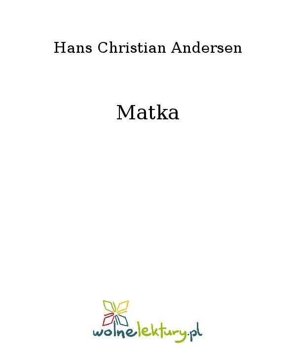 Matka - Ebook (Książka na Kindle) do pobrania w formacie MOBI