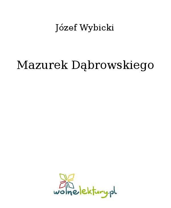 Mazurek Dąbrowskiego - Ebook (Książka na Kindle) do pobrania w formacie MOBI