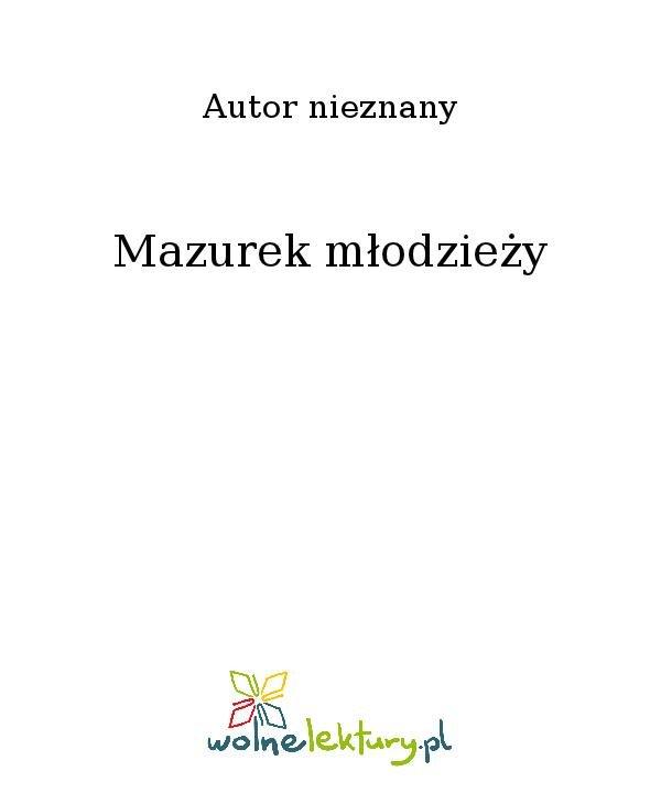 Mazurek młodzieży - Ebook (Książka na Kindle) do pobrania w formacie MOBI