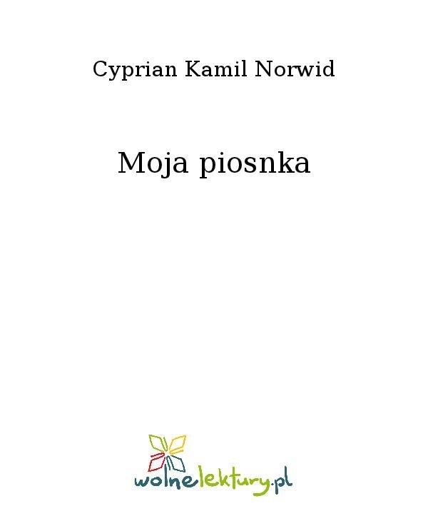 Moja piosnka - Ebook (Książka na Kindle) do pobrania w formacie MOBI