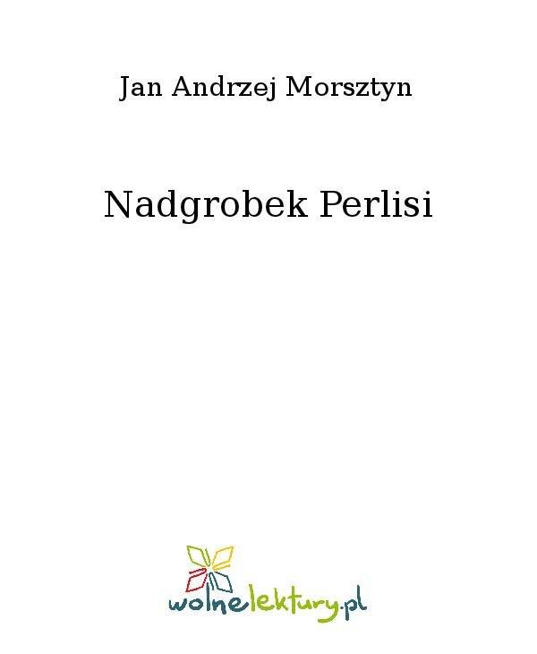 Nadgrobek Perlisi - Ebook (Książka na Kindle) do pobrania w formacie MOBI