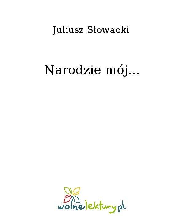 Narodzie mój... - Ebook (Książka na Kindle) do pobrania w formacie MOBI