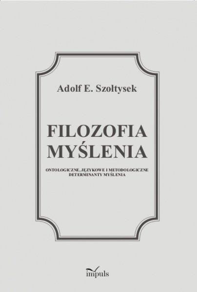 Filozofia myślenia - Ebook (Książka PDF) do pobrania w formacie PDF