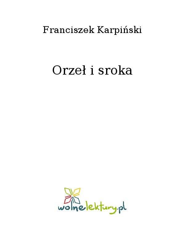 Orzeł i sroka - Ebook (Książka na Kindle) do pobrania w formacie MOBI