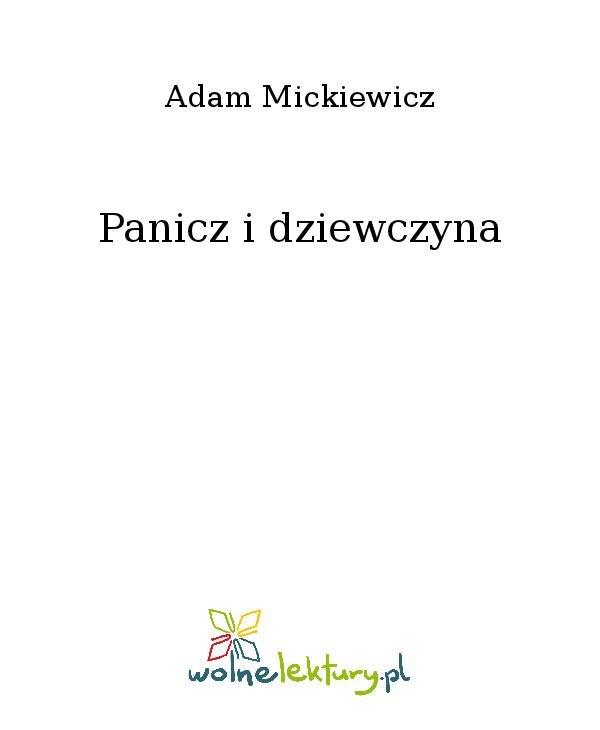 Panicz i dziewczyna - Ebook (Książka na Kindle) do pobrania w formacie MOBI