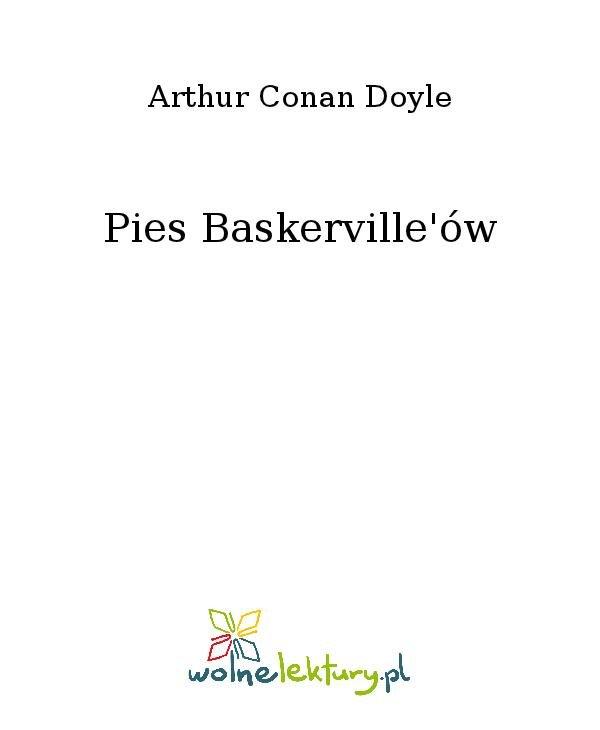 Pies Baskerville'ów - Ebook (Książka na Kindle) do pobrania w formacie MOBI