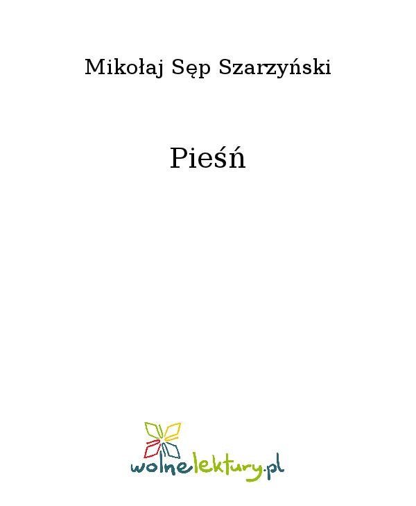Pieśń - Ebook (Książka na Kindle) do pobrania w formacie MOBI
