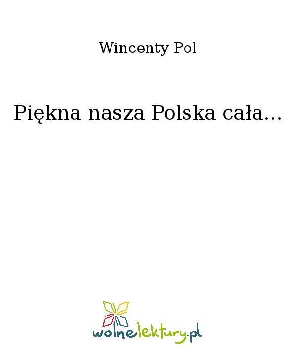 Piękna nasza Polska cała... - Ebook (Książka na Kindle) do pobrania w formacie MOBI