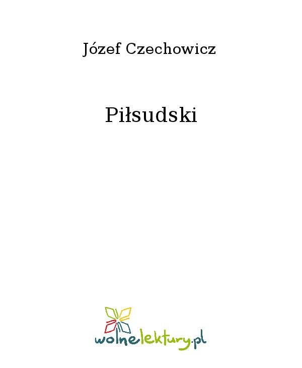 Piłsudski - Ebook (Książka na Kindle) do pobrania w formacie MOBI