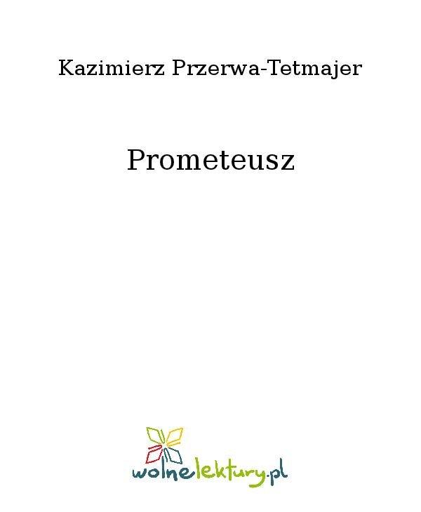 Prometeusz - Ebook (Książka na Kindle) do pobrania w formacie MOBI