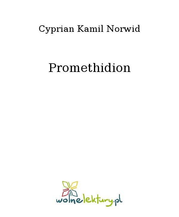 Promethidion - Ebook (Książka na Kindle) do pobrania w formacie MOBI