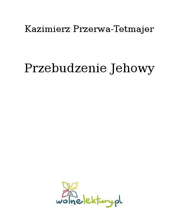 Przebudzenie Jehowy - Ebook (Książka na Kindle) do pobrania w formacie MOBI